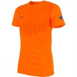 Mammut Moench Light T-shirt Oranje