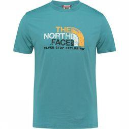 The North Face Mountain Ottino Tee T-shirt Petrol/Blauw