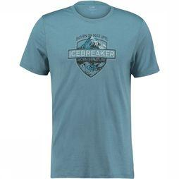 Tech Lite SS Crewe Alpine Crest Shirt
