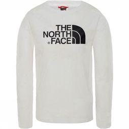 The North Face Easy L/S Shirt Junior Wit