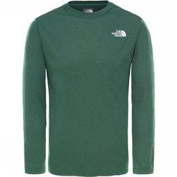 The North Face Reaxion L/S Top Junior Donkergroen