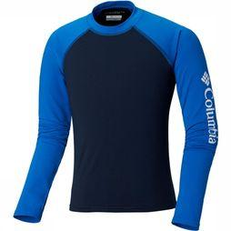Columbia Sandy Shores Long Sleeve Sunguard Junior Marineblauw
