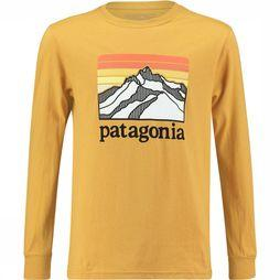 Patagonia Long-Sleeved Graphic Organic T-Shirt Junior Goud