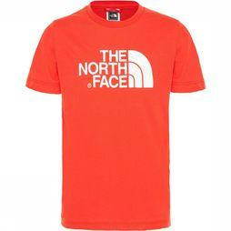 The North Face Easy Tee Shirt Junior Rood/Wit
