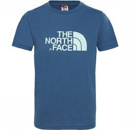 The North Face Easy Tee Shirt Junior Jeansblauw/Middenblauw