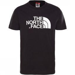 The North Face Easy Tee Shirt Junior Zwart/Wit