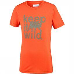 Columbia Mini Ridge Tee Junior Oranje
