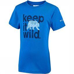 Columbia Mini Ridge Tee Junior Blauw