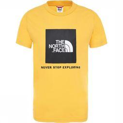 The North Face Box SS Shirt Junior Geel