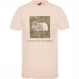 The North Face Box SS Shirt Junior Lichtroze