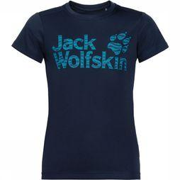Jack Wolfskin Jungle Shirt Junior Donkerblauw