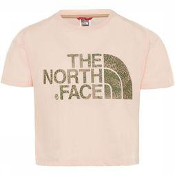 The North Face Topped S/S Shirt Meisjes Lichtroze