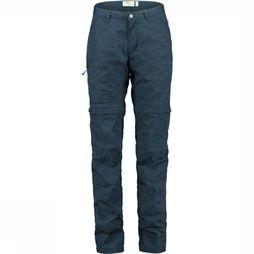 Fjällräven High Coast Zip-Off Broek Dames Marineblauw