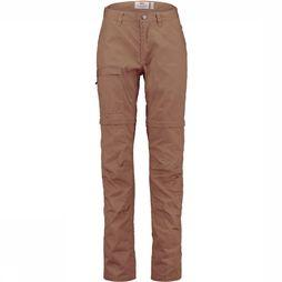 Fjällräven High Coast Zip-Off Broek Dames Donkerkaki
