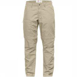 Fjällräven High Coast Zip-Off Broek Dames Zandbruin