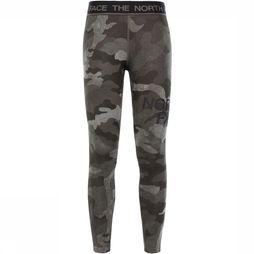 The North Face Flex-tight Legging Dames Donkerkaki/Assortiment Camouflage