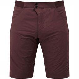 Mountain Equipment Inception Broek Short Donkerbruin