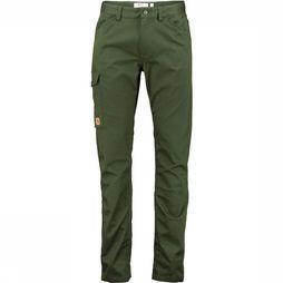 Fjällräven Greenland Stretch Broek Long Donkerkaki