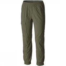 Columbia Silver Ridge Pull-On Banded Broek Junior Donkergroen