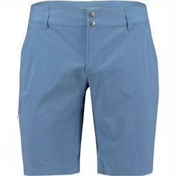 Columbia Saturday Traillong Short 10 Dames Marineblauw/Rood