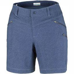 Columbia Peak to Point Short Dames Donkerblauw