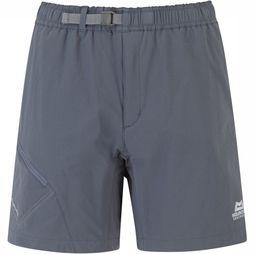 Mountain Equipment Comici Trail Short Dames Middengrijs/Donkergrijs