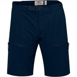 Fjällräven High Coast Hike Shorts Marineblauw