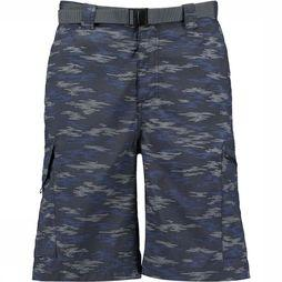 "Columbia Silver Ridgeprinted Cargo Short 10"" Donkerblauw/Assortiment Camouflage"