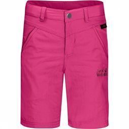 Jack Wolfskin Sun Shorts Junior Middenroze