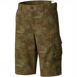 Columbia Silver Ridge Printed Short Junior Middenkaki/Assortiment Camouflage