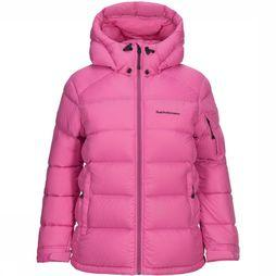 Peak Performance Pertex Frost Down Jas Dames Middenroze