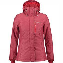 Columbia Alpine Action Jas Dames Rood/Donkerrood