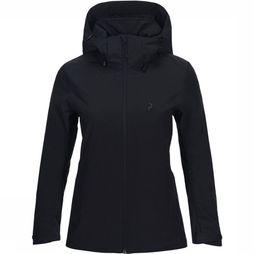 Peak Performance Anima Jas Dames Zwart