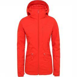 The North Face Lenado Jas Dames Donkerrood