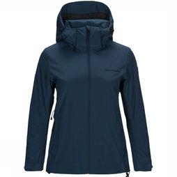 Peak Performance Anima Ski-jas Dames Marineblauw