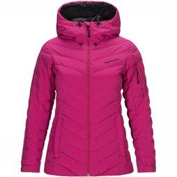 Peak Performance Fros Ski-jas Dames Middenroze