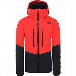 The North Face Chakal Jas Zwart/Rood