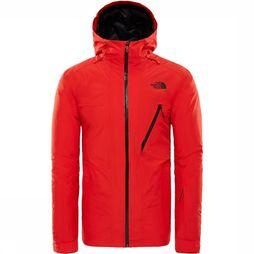 The North Face Descendit Jas Rood/Zwart