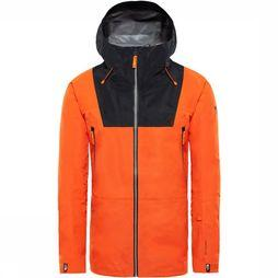 The North Face Ceptor Jas Oranje/Zwart