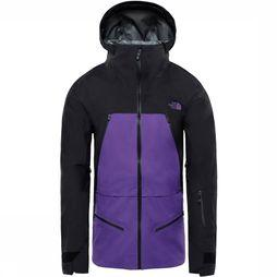 The North Face Purist Jas Paars/Zwart