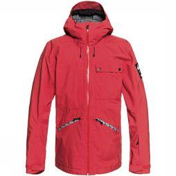Quiksilver Snow Spindye Jas Rood