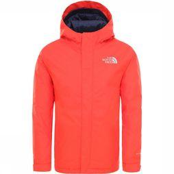 The North Face Snowquest Jas Junior Donkerrood