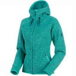 Mammut Arctic ML Hooded Jas Dames Petrol
