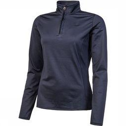 Protest Fabrizoy 1/4 Zip Top Dames  Donkerblauw