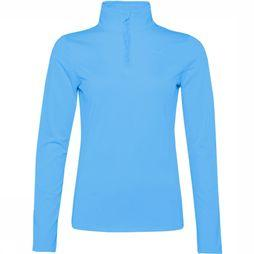 Protest Fabrizoy 1/4 Zip Top Dames  Lichtblauw