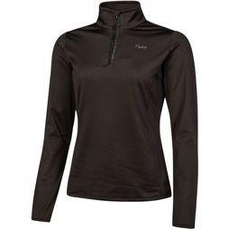 Protest Fabrizoy 1/4 Zip Top Dames  Zwart