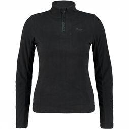 Protest Mutey 1/4 Zip Shirt Dames Zwart