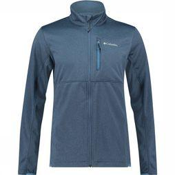 Columbia Outdoor Elements Full Zip Fleece Vest Donkerblauw