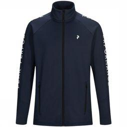 Peak Performance Rider Fleece Vest Donkerblauw