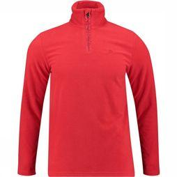 Protest Perfecty 1/4 Zip Trui Middenrood